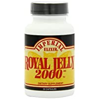 Imperial Elixir Royal Jelly, 2000 mg, 30 Capsules (Pack of 2)
