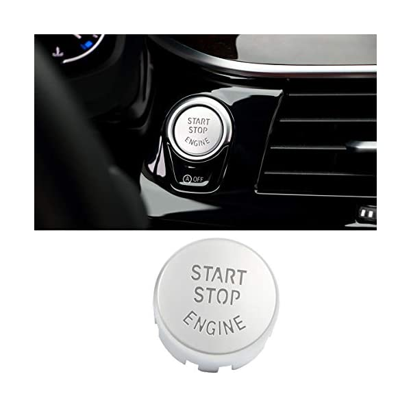Engine Power Ignition Start Stop Button Replacement For Fits BMW 1 2 3 4 5 6 7 X 1 X3 X 4 X5 X 6 Series RaxTDM Sports Red Start Stop Engine Switch Button