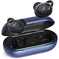 Upgraded, Anker Soundcore Liberty Neo True Wireless Earbuds, Pumping Bass, IPX7 Waterproof, Secure Fit, Bluetooth 5 Headphones, Stereo Calls, Noise Isolation, One Step Pairing, Sports (Blue)
