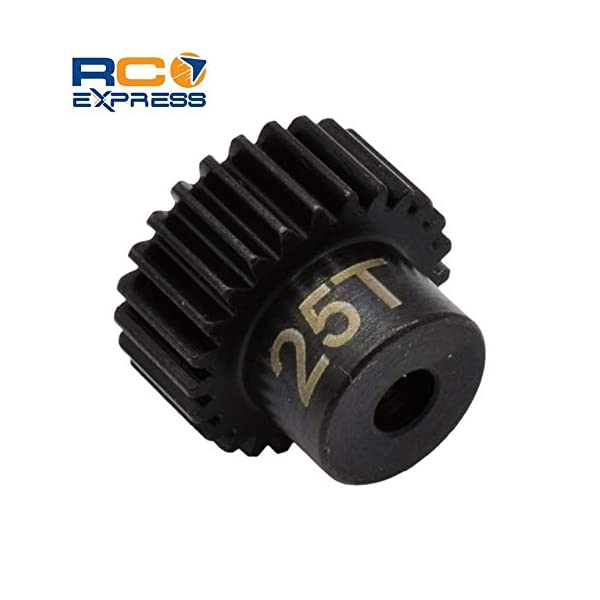 Hot Racing CSG1825 25t 48p Hardened Steel Pinion Gear 1//8 Bore