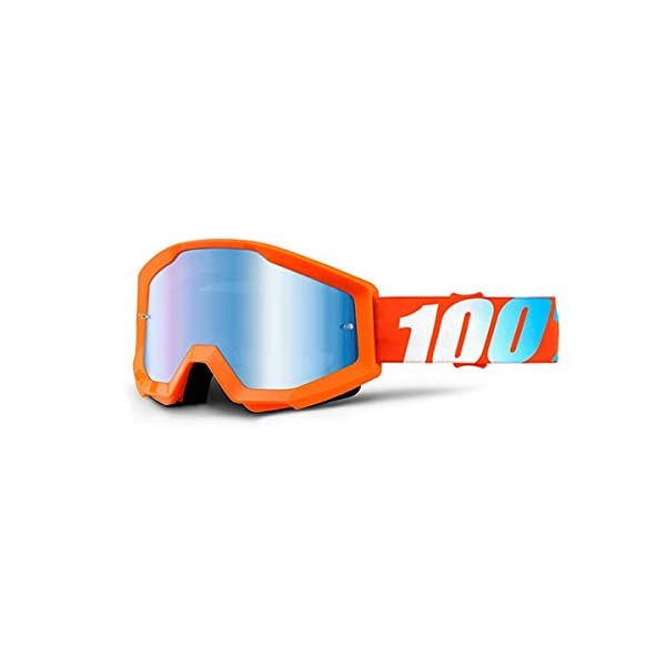 100/% Unisex-Adult Speedlab One Size STRATA Goggle Furnace-Mirror Red Lens 50410-232-02