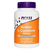 Now Foods Acetyl L-Carnitine 500 mg 100 caps