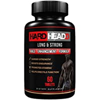 HARD HEADD Climax Pills for Ultimate Male Performance and Impressive Size - Maximum Strength, Improves Endurance, Boosts Stamina - Mood - Maxx Out - All Natural - Made in USA