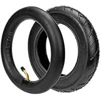 HIAORS 10 x 2.125 Inner Tube With Bent Valve for Self Balancing 2-Wheel Electric Foldable Scooter Hoverboards Swag Cycle Envy Parts 10 Inch