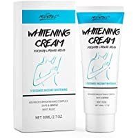 Whitening Cream Underarm Body Whitening Lightening Cream for Private Areas, Under Arm Armpit, Knees, Elbows Brightens Moisturizes Nourishing Repairs Skin for Party Date Xmas Gift for Women