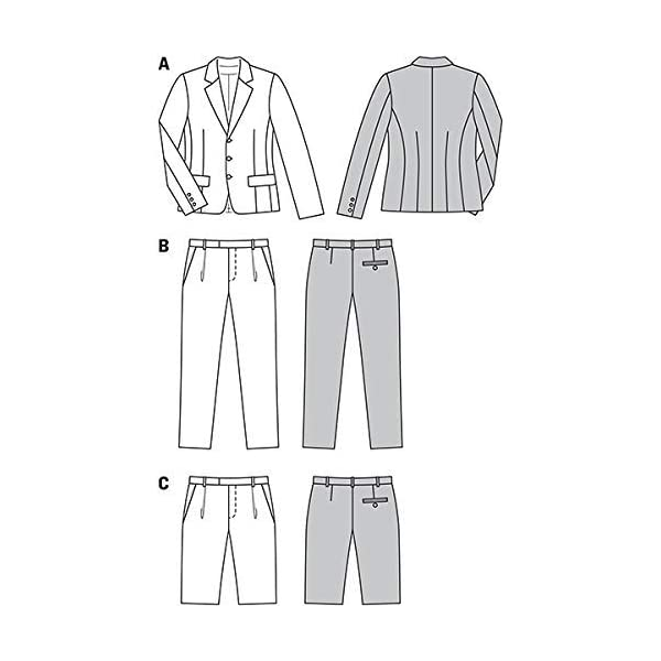 Man Jacket Suit With Vest Sewing Pattern By Verlag Aenne Burda Vest And Pants Sewing Classic Pattern Sizes 34 to 50