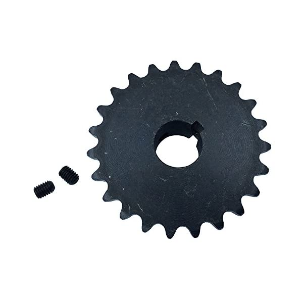KOVPT 5//8 Bore 12 Teeth B Type 3//8 Pitch 35 Roller Chain Sprocket