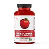 Totally Natural Remedies Apple Cider Vinegar Gummies 1 Pack (30 Count, Gluten-Free, Non-GMO, with The Mother, Vitamin B6, B12, Beet Root, Pomegranate) Red