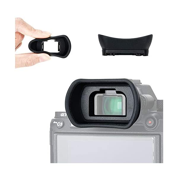 A/&R Eye Cup for Sony a7 a7 II a7 III a7R a7R II a7R III a7S a7S II a9 a58 Replacement for FDA-EP18 Eyecup