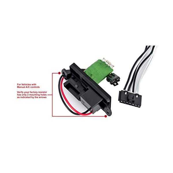 ECCPP 15305077 Blower Motor Wire Harness Air Conditioning Replacement Parts fit for Cadillac//Chevrolet//GMC