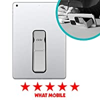 CLCKR Tablet Stand with Multi Viewing Modes Compatible with Universal Tablets and e-Readers - Metallic Silver