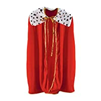 Beistle Child King or Queen Robe (Red) Party Accessory 33 Inches