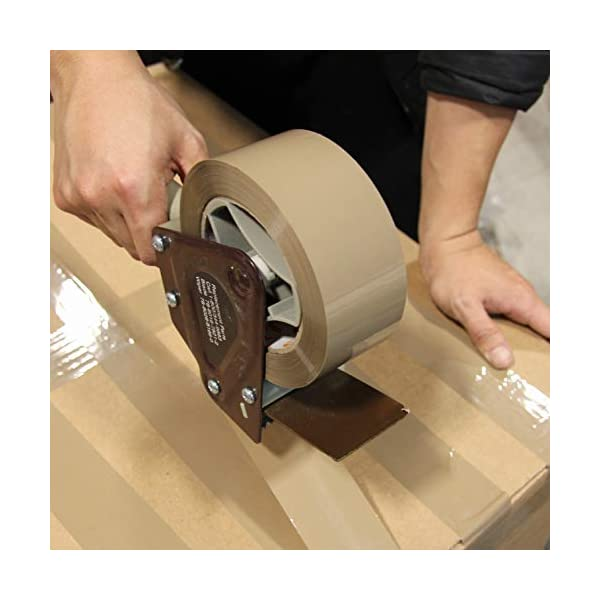 2.6mil Thick 12 Pack 110 Yard x 1.9 inches Brown Packing Tape Rolls Pack Heavy Duty Packaging Adhesive Sealing for Shipping Moving Storage