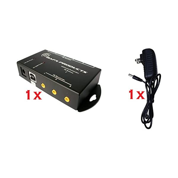 Triple Zone IR Repeater//Remote Control Extender Kit BAFX Products