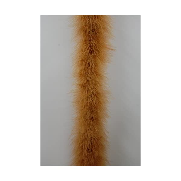 22 Grams YELLOW Marabou Feather Boa 2 Yards Long 72