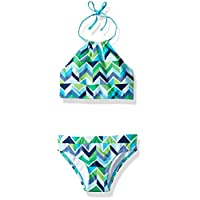Kanu Surf Girls' Mahina Beach Sport Halter Bikini 2-Piece Swimsuit