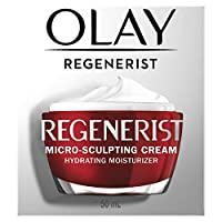 Olay Regenerist Micro-Sculpting Cream, Face Moisturizer with Hyaluronic Acid & Vitamin B3+, 1.7 oz
