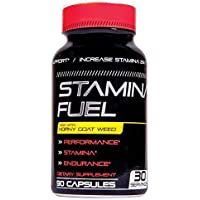 Stamina Fuel Male Enhancing Pills - Enlargement Booster for Men - Increase Size, Strength, Stamina - Energy, Mood, Endurance Boost - All Natural Performance Supplement - 90 Caps Manufactured USA