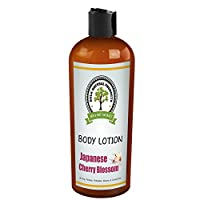 Shea Butter & Cocoa Butter Japanese Cherry Blossom Scented Skin and Body Lotion (16 oz.)