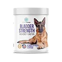 PET CARE Sciences Bladder Strength and Kidney Function Chews, Naturally Derived Dog UTI Treatment with Cranberry, Made in The USA