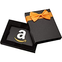 Amazon.com Gift Card in a Black Gift Box (