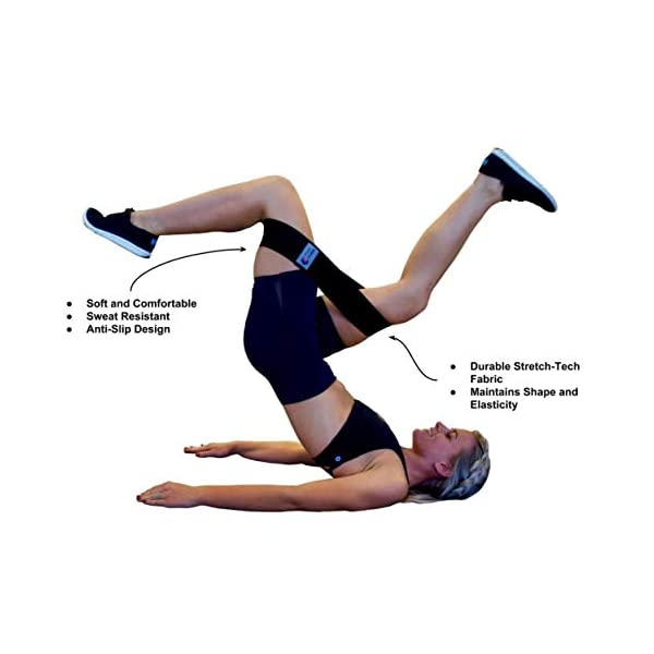 and Definition Premium Hip Band to Tone and Strengthen Hips and Quads Flexibility Hamstrings Increase Endurance Power Fitness 3-Size Booty Bands Glutes