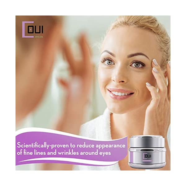 COUI Under Eye Cream Anti Aging – For Eye Bags, Dark Circles and Puffiness