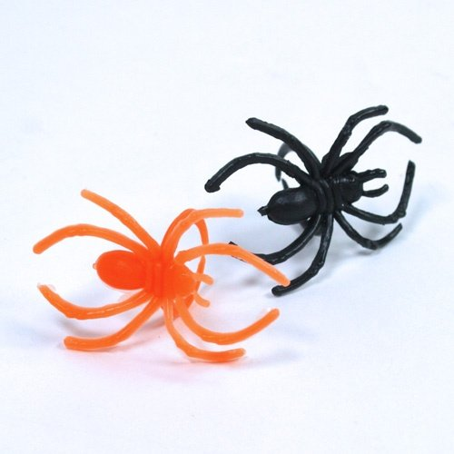 Bobos Monkey Spider Rings /& Halloween Party Favors Spider Rings - 144 pc