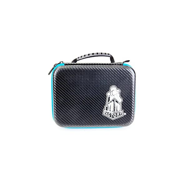 YoYoFactory Hard Structured Case Color Black with Blue Zipper