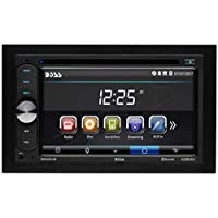 BOSS Audio Systems BV9351B Car DVD Player - Double Din, Bluetooth Audio and Calling, 6.2 Inch LCD Touchscreen Monitor, MP3 Player, CD, DVD, MP3, USB, SD, Auxiliary Input, AM FM Radio Receiver