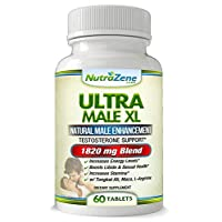 Natural Testosterone Booster & Male Enhancement Supplement -Huge Sale- w/Tribulus,Tongkat Ali, Maca & Arginine – Promotes Increased Energy, Stamina, Weight Loss Aid & Muscle Growth -60ct