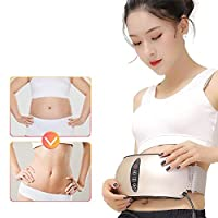 NSWD Electric Burning Fat Lose Weight Belt, Vibration Slimming Massage Belt, with Far Infrared Heating Fitness Device for Women & Men