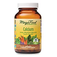 MegaFood, Calcium, Supports Healthy Bones and Teeth, Mineral Supplement, Vegan, 60 Tablets (60 Servings)