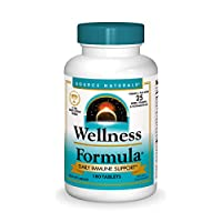 Source Naturals Wellness Formula Bio-Aligned Vitamins & Herbal Defense - Immune System Support Supplement & Immunity Booster - 180 Tablets