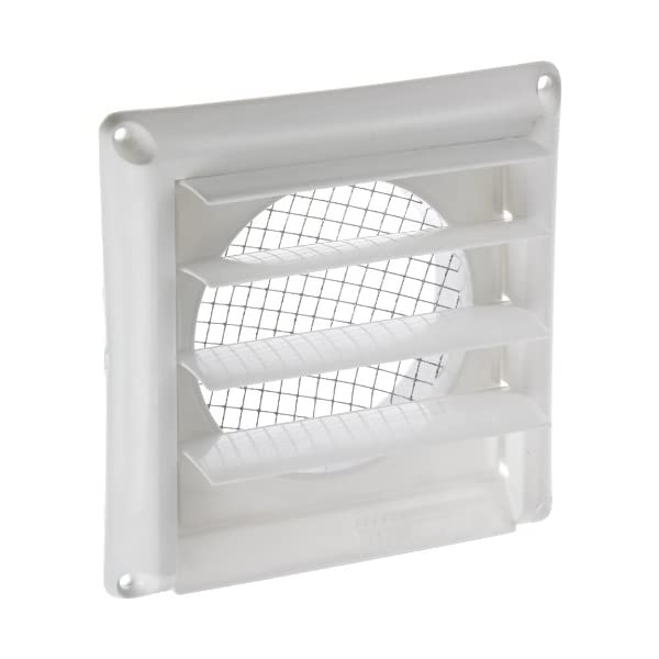 3 Inch to 8 Inch Sunshane 2 Pack Dryer Vent Grill Bird Guard Insert Stop Birds Nesting in Bathroom Exhaust Vent and Dryer Vent