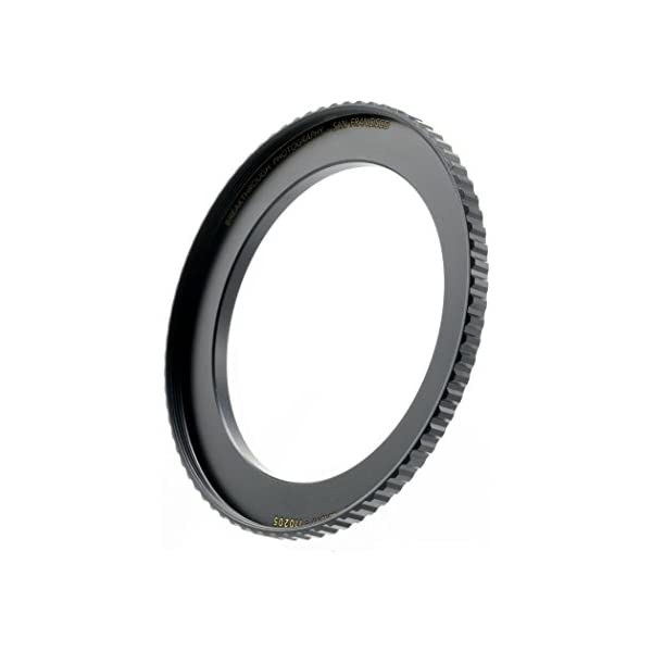 Made of CNC Machined Brass with Matte Black Electroplated Finish Breakthrough Photography 52mm to 67mm Step-Up Lens Adapter Ring for Filters