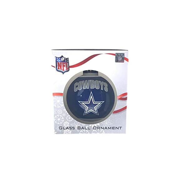 FOCO Glass Ball Ornament Represent The NFL and Show Your Team Spirit with Officially Licensed Holiday Fan Decorations Limited Edition Ornament