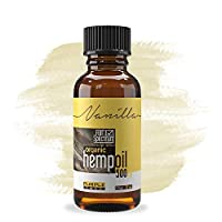 Hemp Oil Extract | Pain, Anxiety & Stress Relief | Grown & Made in USA | Anti-Inflammatory & Joint Support | 100% Natural, Organic Hemp Drops | Rich in Vitamin E, D, Omega 3, 6 & 9 Fatty Acids