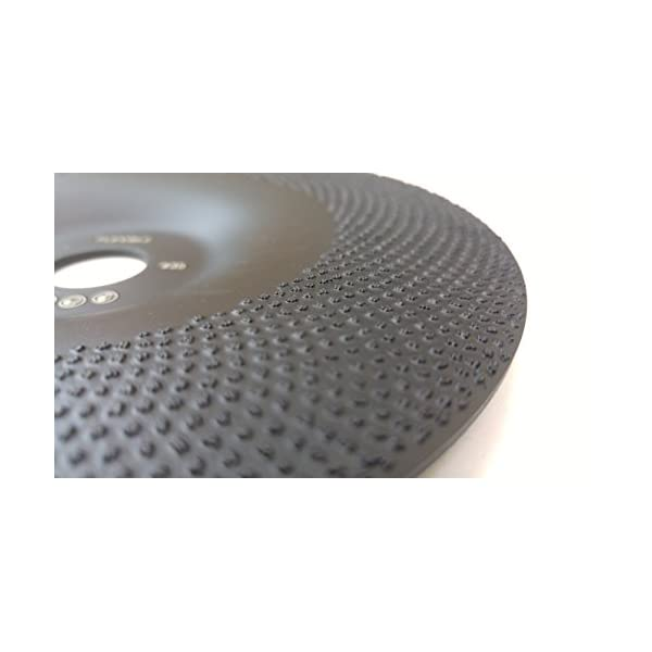Flexible, 5, 4.8 oz Very Light Flexible 5 Diamond Cup Grinding Disc Wheel with RCD Newest Technology /& Rubber Cushioned Body for Grinding /& Polishing Universal Purpose