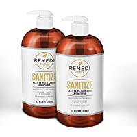 Remedi Pure Professional Grade Hand Sanitizer- 70% Alcohol with Aloe (8oz 2pk)