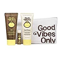 Sun Bum Premium Day Tripper | Travel-Sized Sun Care Pack with Moisturizing Sunscreen Lotion, Sunscreen Lip Balm and Hydrating Cool Down Lotion | Reef Friendly Broad Spectrum UVA/UVB Protection