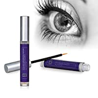 Eyelash Growth Serum By B Radiant - Rapid Lash and Brow Treatment Enhancer, Grow Longer and Fuller Lashes and Eyebrows - Made in USA