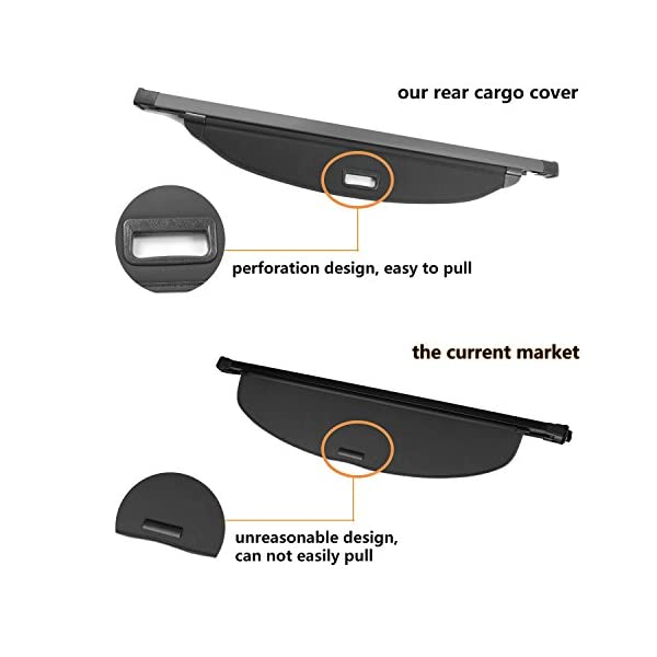 Salusy Black Dashboard Dash Protector Dash Mat Sun Cover Pad Compatible with Nissan Rogue X-trail 2014 2015 2016 2017 2018 2019//Nissan Rogue Sport SUV 2017 2018 2019 2020