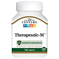 21st Century Therapeutic M Tablets, 130 Count