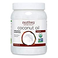 Nutiva Organic Cold-Pressed Virgin Coconut Oil, 54 Ounce