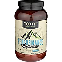 Too Fit - All-in-One Post Workout Recovery Powder with Clean Carbs, Organic Whey, and Collagen Protein - Vanilla Cinnamon, 20 Servings