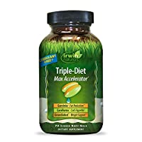 Irwin Naturals Triple-Diet Max Accelerator - Stimulant Free Healthy Weight Management Supplement - 72 Liquid Softgels