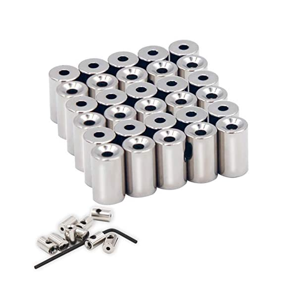9mmx5.5mm, Silver 60 Pieces Pin Keepers Pin Locks Pin Backs Locking Clasp Locking Pin Keeper Backs with Wrench