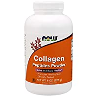 NOW Supplements, Collagen Peptides Powder, Clinically Tested, Joint and Bone Health*, 8-Ounce