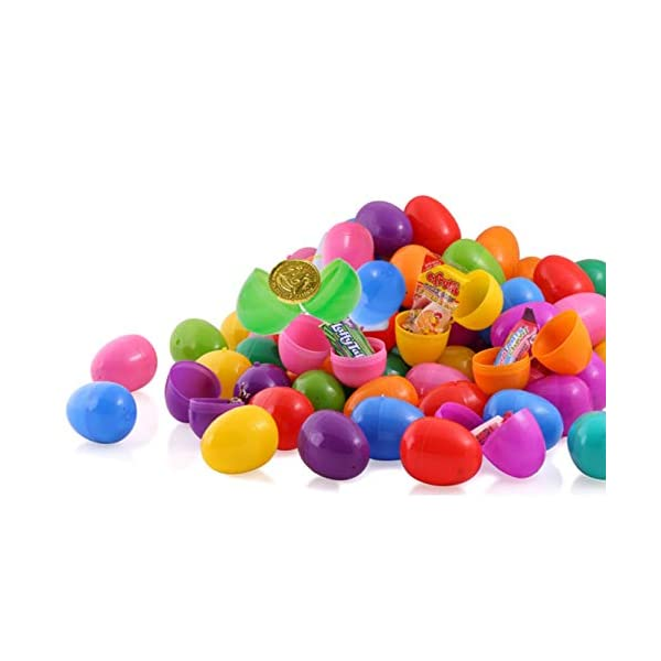 25 Bright and Colorful 2.5 Surprise Eggs With Mini Slime Putty Inside Easter Basket Stuffers by Neliblu Slime Putty Toy Filled Easter Eggs Perfect For Easter Hunts